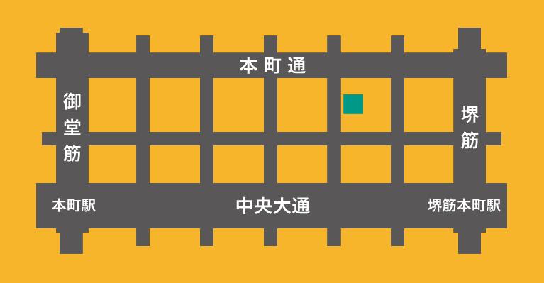 エニーズ鑑定株式会社 周辺地図画像